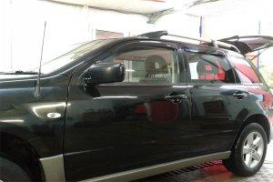 Mitsubishi Outlander вид после химчитски