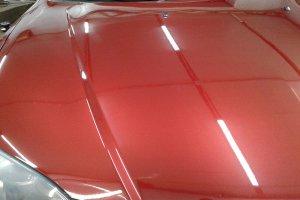 Mazda 3, лако-красочное покрытие после полировки