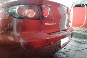 Mazda 3, вид после полировки