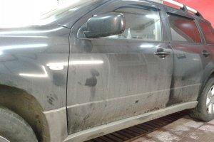 Mitsubishi Outlander вид до химчитски