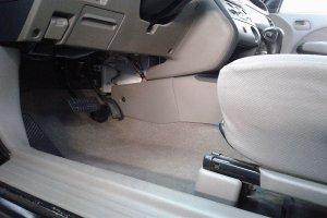 Mitsubishi Outlander пол после химчитски