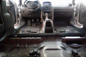 Renault Megane, салон до химчистки