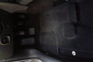 Renault Megane, пол после химчистки