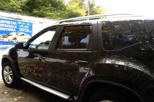 """Nissan Terrano, кузов покрыт """"жидким стеклом"""""""