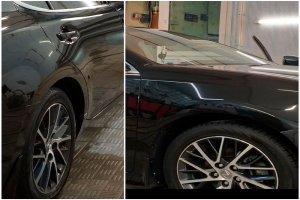 Lexus ES 250 очистка и защита дисков