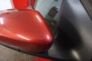 Зеркало авто после удаления краски