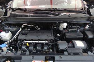 KIA Sportage, двигатель после мойки