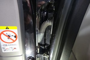 Porshe Panamera 4S дверь до химчистки
