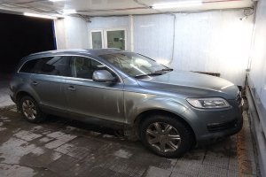 Audi Q7 перед химчисткой