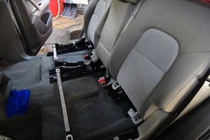 Audi Q7, после химчистки