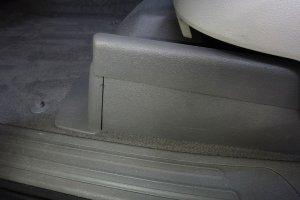 Audi Q7, сиденья после химчистки