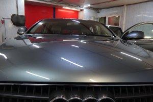 Audi Q7 после химчистки