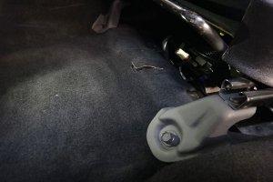 Subaru Forester пол после химчистки