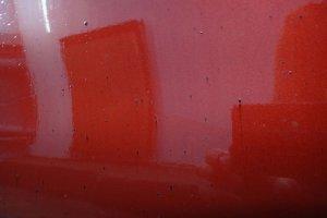 Mazda CX7 загрязнения на ЛКП кузова