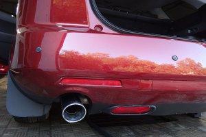 Удаление вмятины на Mazda CX7